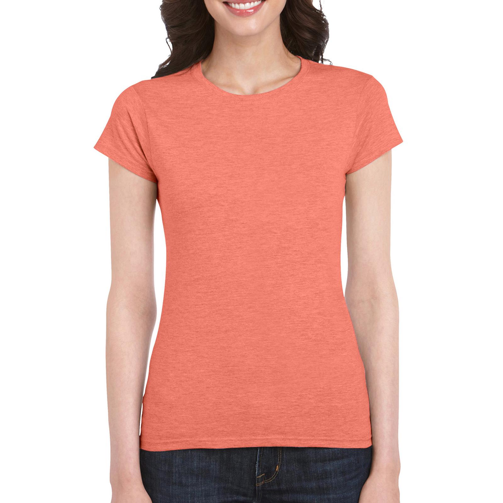 Женская приталенная футболка Soft Style