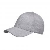 Меланжевая кепка с логотипом