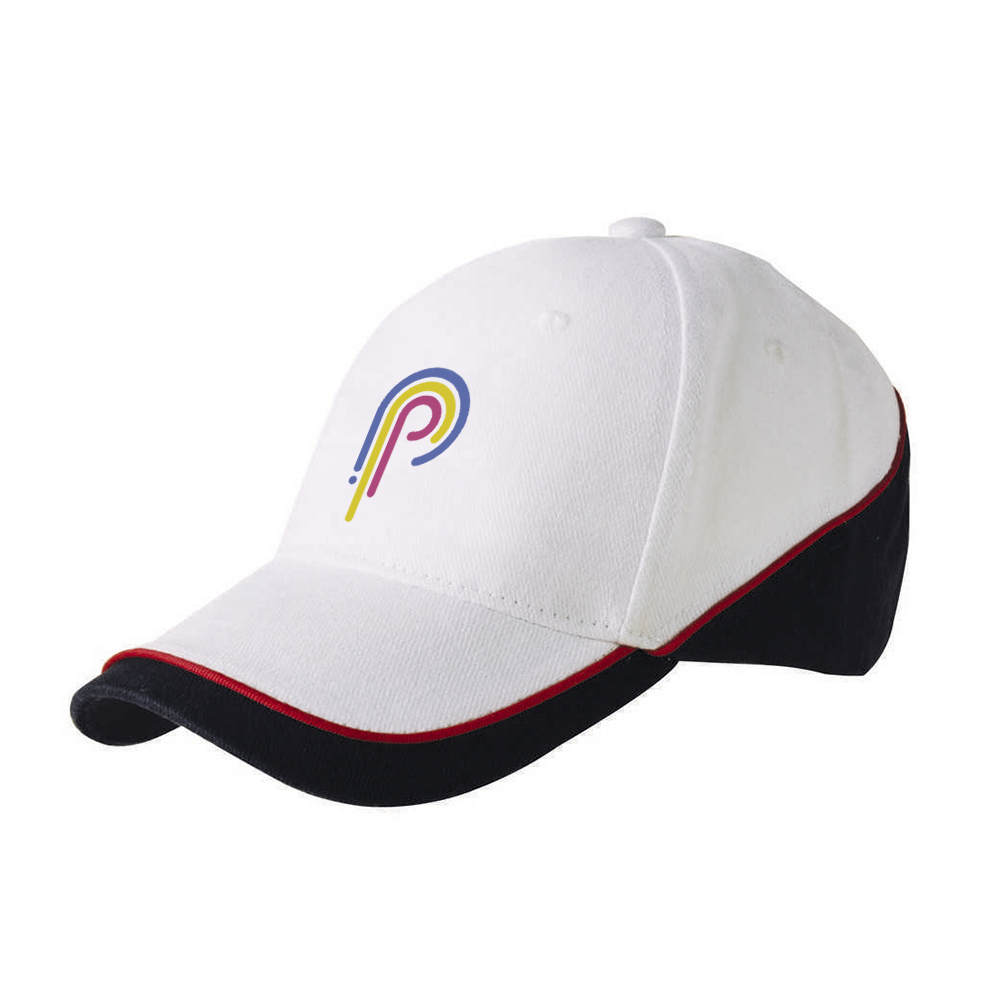 Двухцветная кепка с логотипом 6-ти клинка