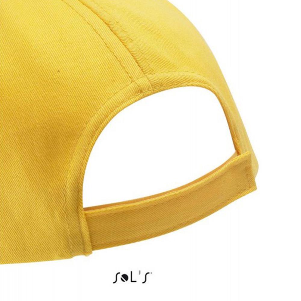 Бейсболка с логотипом с липучкой BUZZ от Sol's