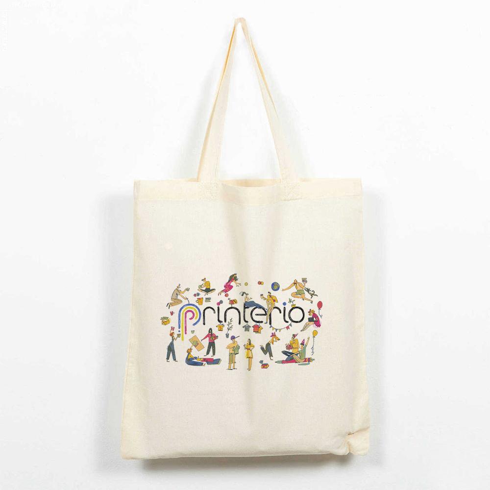 Эко-сумка с логотипом (бязь)