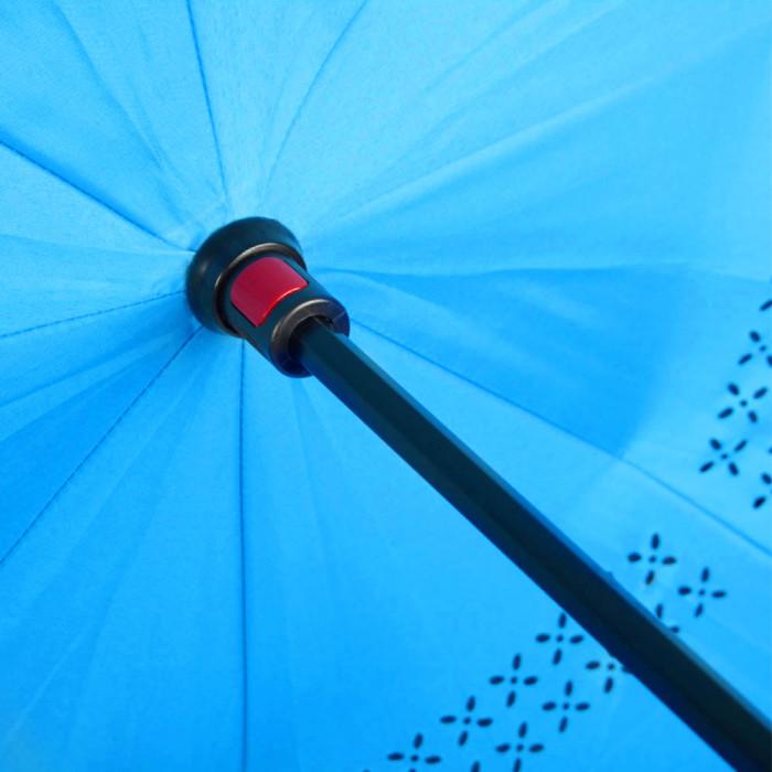 Зонт-трость из шелка