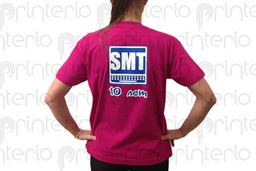 нанесение логотипа на одежду SMT